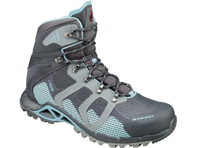 Mammut W's Comfort High GTX Surround Shoes graphite-air